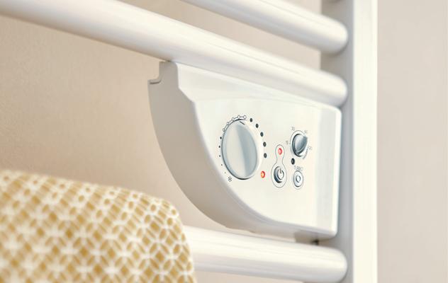 Installation de s che serviettes lectrique design energetech - Chauffe serviette mixte ...