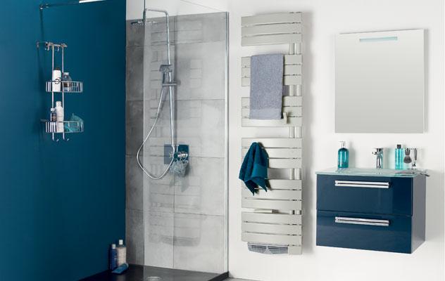 installation radiateur s che serviettes mixte energetech. Black Bedroom Furniture Sets. Home Design Ideas